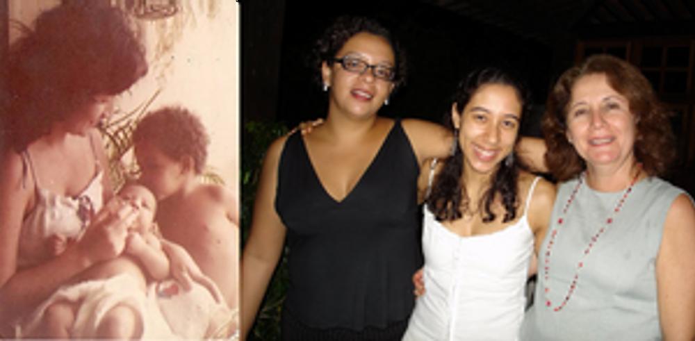 Antonieta, Mariana e Joana (1982 e 2010)