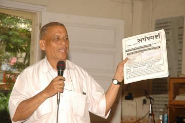 Sarpamitra Bharat Joshi_Volunteers day 2