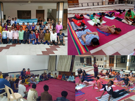 Snehankit Helpline Summer Camp for young students 2019- Part I