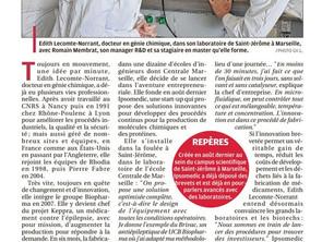 La Provence nous accueil ... et nous publie!
