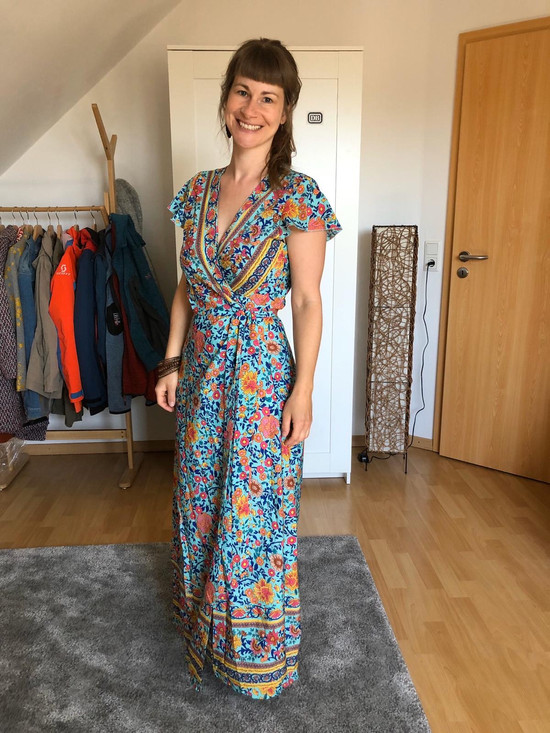 Stilmentoring: Kundin im Kleid