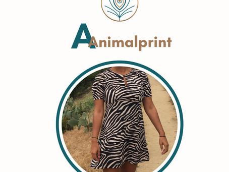 Mode ABC- A wie Animalprint