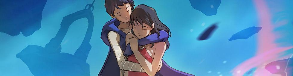 Couple enlacé avec amour