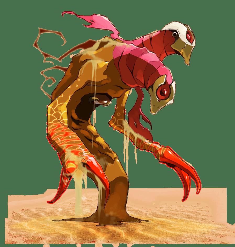 Monstre rouge evangelion