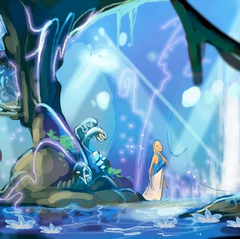La grotte sous-marine