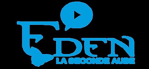 Logo eden bleu