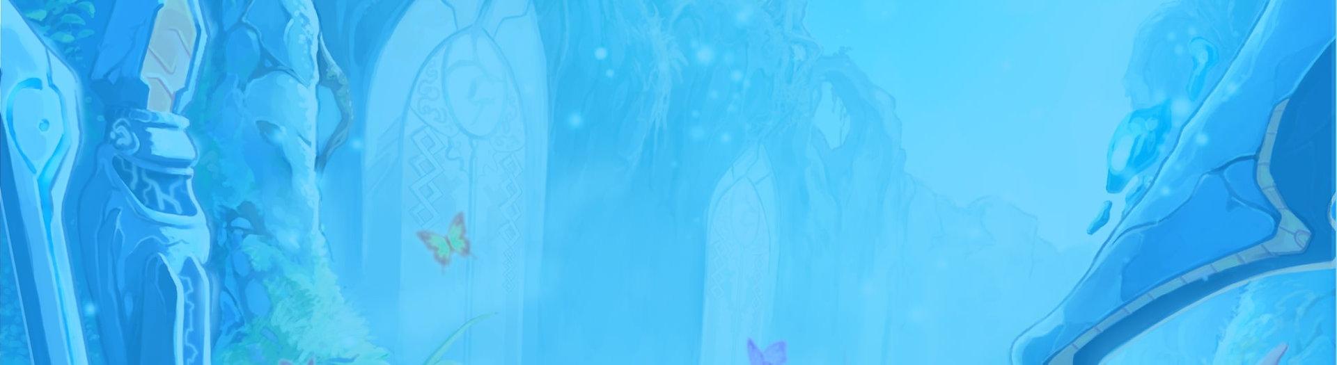 Fond magique bleu onirique