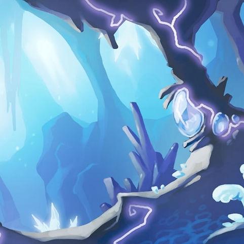 grotte marine bleu lumière stalactites e