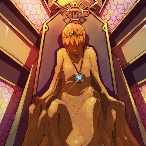 homme de sable prince assis trône roi in