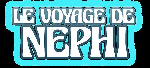 Logo le voyage de Nephi Bull Patrice Bro
