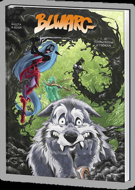 Bande dessinée Blwarg Kallya et Gloum
