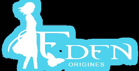 Logo Eden origines Axendre bande dessiné