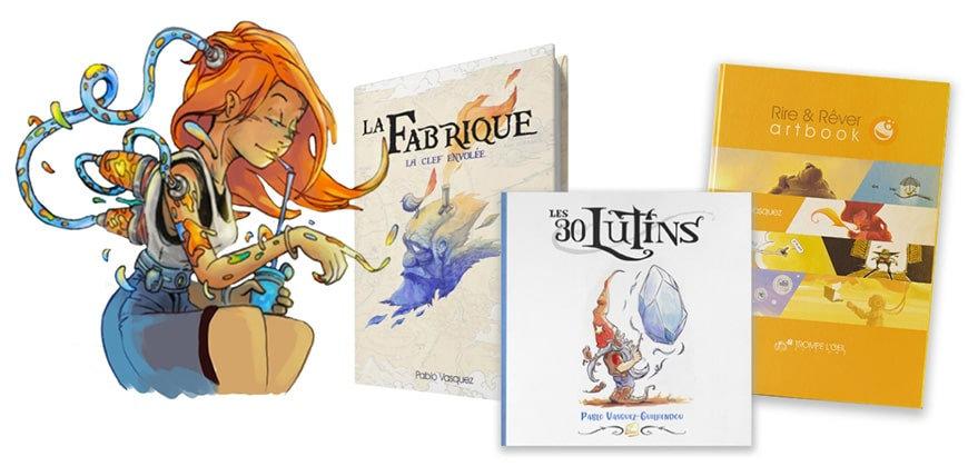 Collection livre le pueblo fabrique bd a