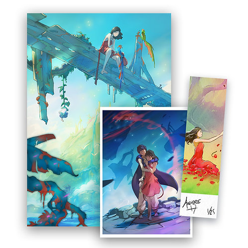 Pack trio poster/carte/ex-libris