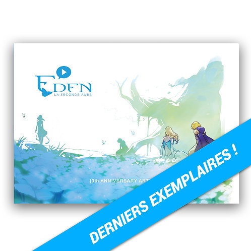 Artbook - EDEN 3th anniversary (version 2020) + dédicace