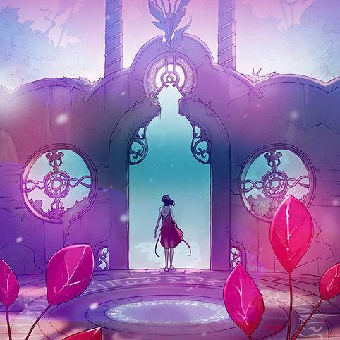 maëlle tales of eden onirique jardin