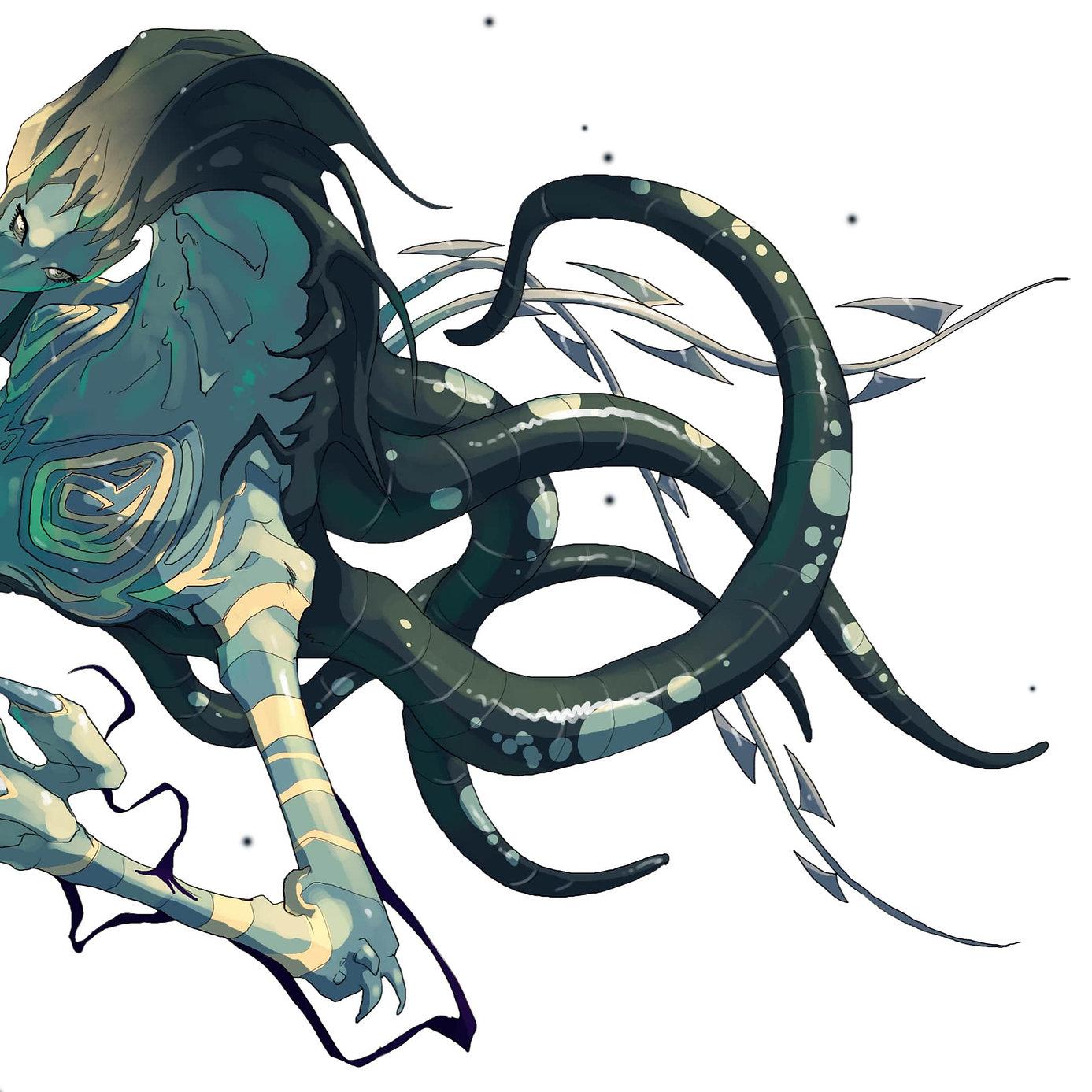 Monstre tentacules horreur cauchemar res