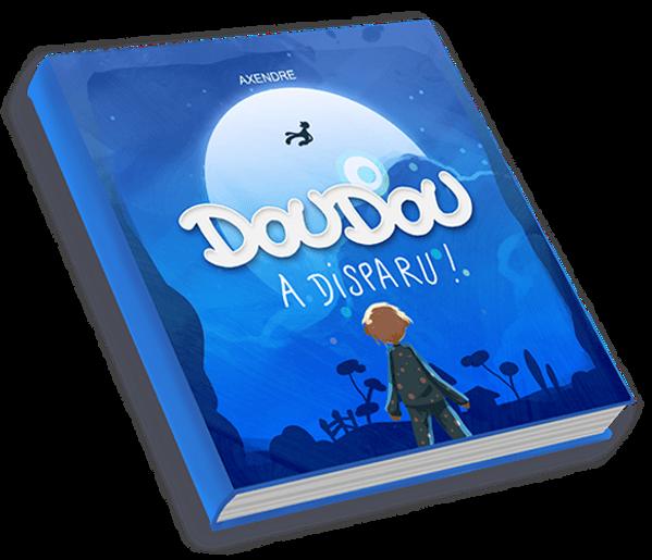 livre enfant illustré doudou a dispau