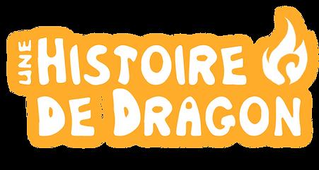 Logo Une histoire de Dragon Thibault Col