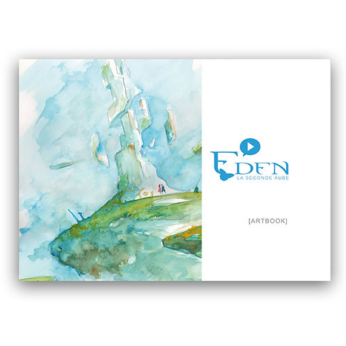 Artbook - EDEN la seconde aube (version 2019) + dédicace