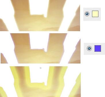 effets spéciaux illustration tuto halo