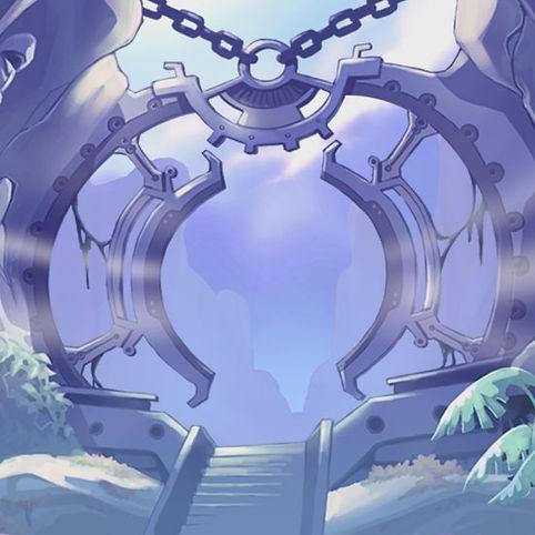 portail mystérieux mystique violet