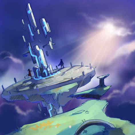 Le chemin de pierres