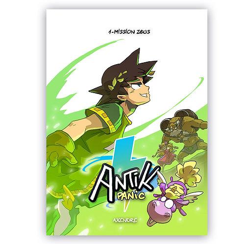Manga ANTIK PANIC T1