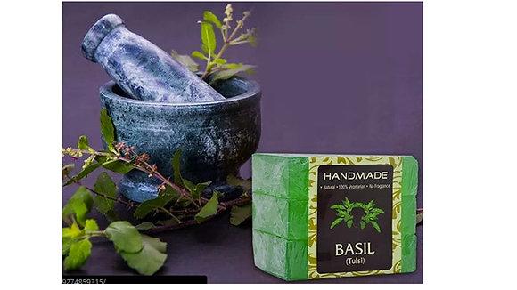 Basil Bath Bar (Pack Of 3)