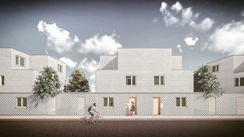 LOODS, stadsinbreidingsproject met sociale woningen te Gent