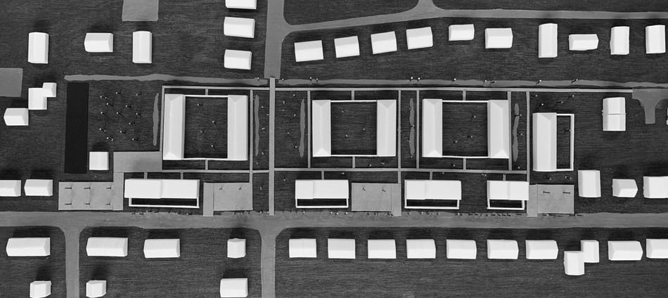 VROUWEN, wedstrijdontwerp duurzame woonwijk met 65 woonentiteiten te Wondelgem