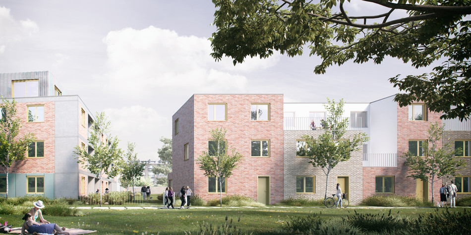 CLT, community land trust project met 40 woningen te Gent