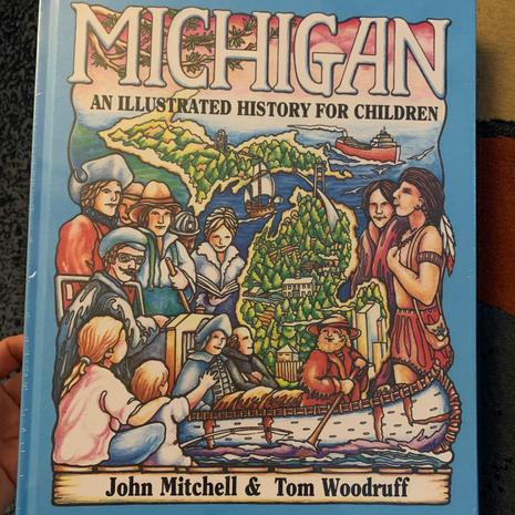 25.) Michigan Books (7 in Stock)