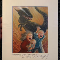 """7.) Dragons Like to Be """"It"""" 8x10 (14 in stock)"""