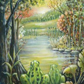 At Golden Frog Pond