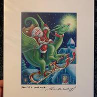 2.) Santa's Helper 8x10 (SOLD OUT)
