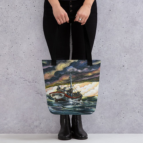 """Fisherman's Luck"" Tote Bag"