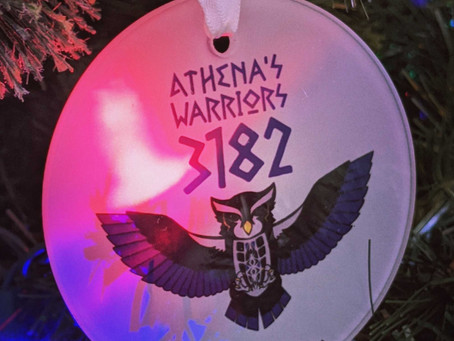 Athena's Warriors Ornaments now available!