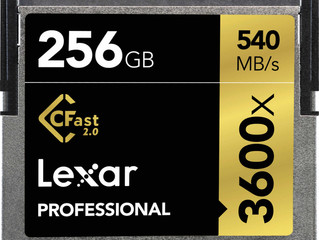 Lexar 256gb Cfast 2.0 (3600x) ARRI