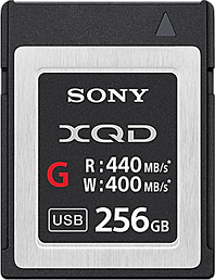 Sony XQD 256 GB Memory Card