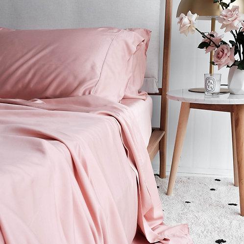 100% Organic Bamboo Fitted Sheet & Pillowslips Set - Queen/King