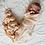 Thumbnail: BABY SWADDLE/WRAP - ORGANIC BAMBOO MUSLIN - WHEAT