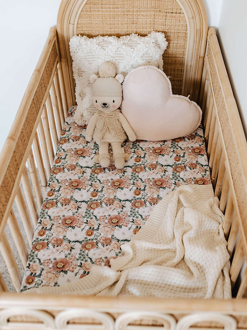 Snuggle Hunny Kids - Florence | Fitted Cot Sheet