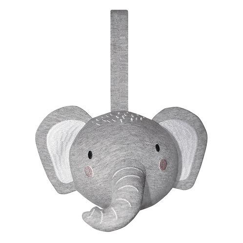 Elephant Playbar & Pram Rattle Ball
