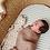 Thumbnail: BABY SWADDLE/WRAP - ORGANIC BAMBOO MUSLIN - SIROCCO