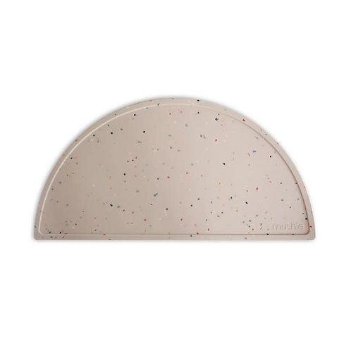 Mushie - Silicone Place Mat (Vanilla Confetti)