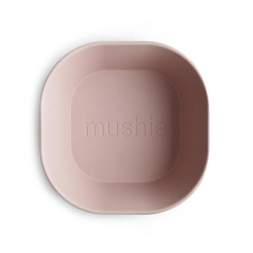 Mushie - Square Dinnerware Bowl, Set of 2