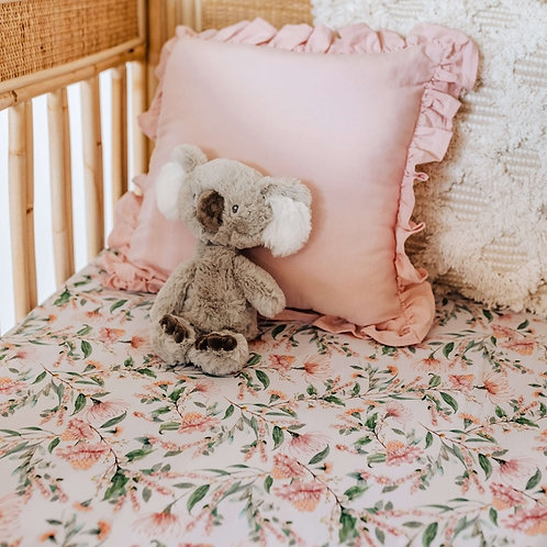 Snuggle Hunny Kids - Wattle | Fitted Cot Sheet