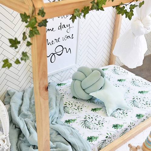 Snuggle Hunny Kids - Enchanted I Fitted Cot Sheet