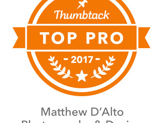 "Matthew D'Alto Photography & Design of Norwalk, CT Awarded ""Top Pro"" Status on Thu"
